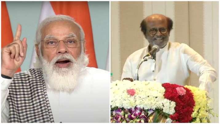PM Modi wishes Tamil superstar Rajinikanth on his 70th birthday