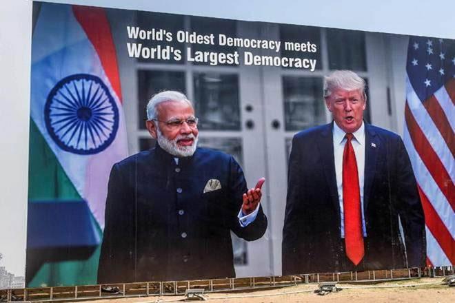India Tv - trump india visit