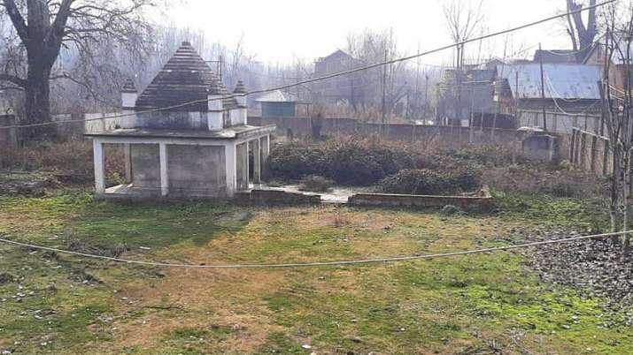 Srinagar temple burnt, fact check, no temple burnt srinagar, arya samaj temple motiyar rainawari man