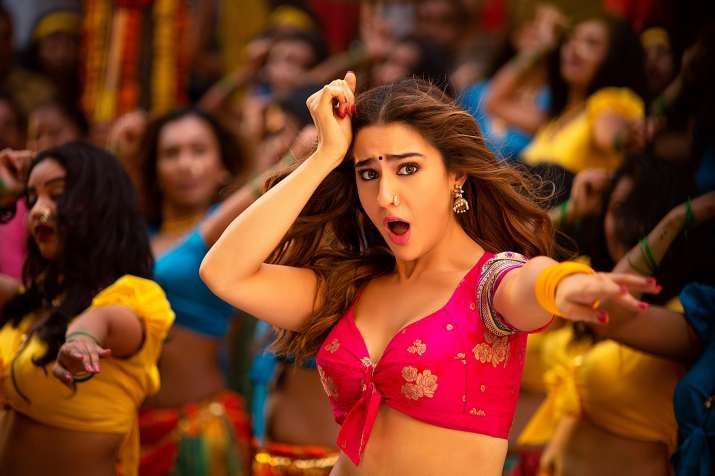 India Tv - Sara Ali Khan in 'Mummy Kassam' song