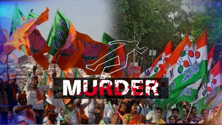 bjp worker murder in kolkata
