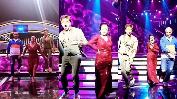 Indian Idol 12: Neha Kakkar gets hurt by Himesh Reshammiya on stage, shares video on Instagram
