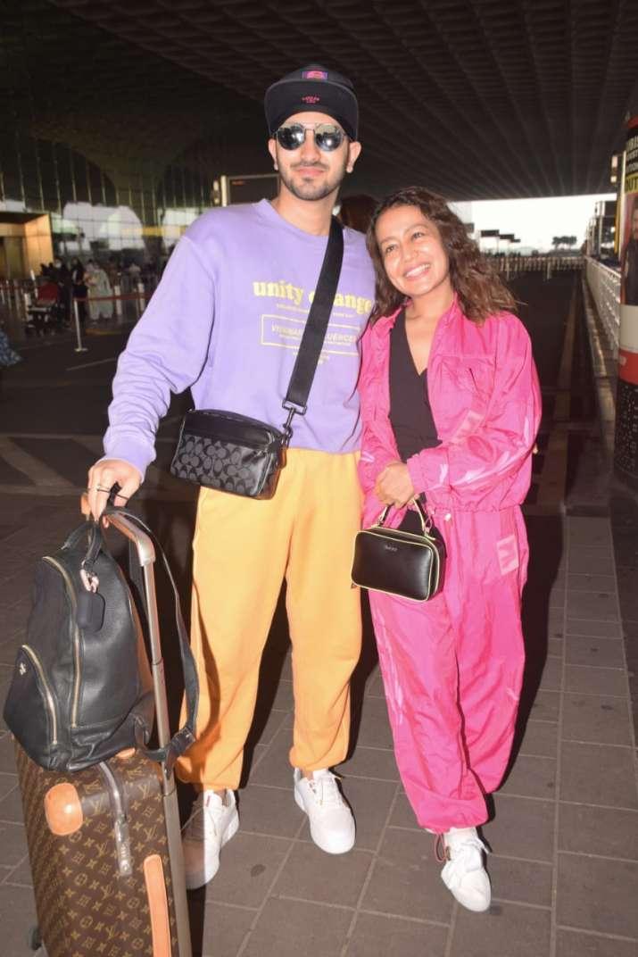 India Tv - Neha Kakkar and Rohanpreet Singh