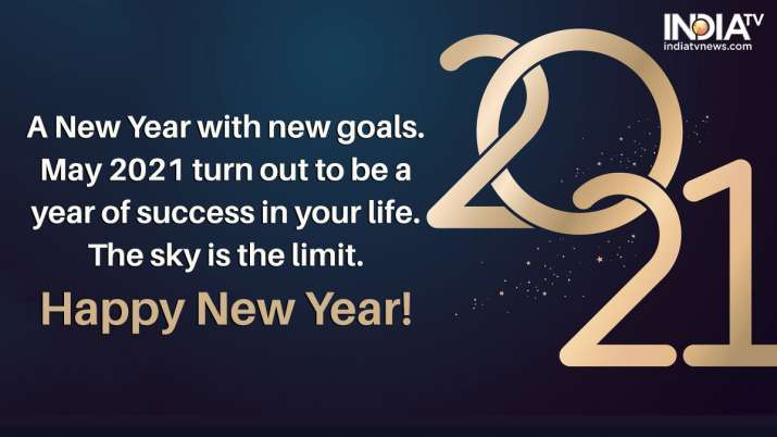 India Tv - Happy New Year 2021 best quotes