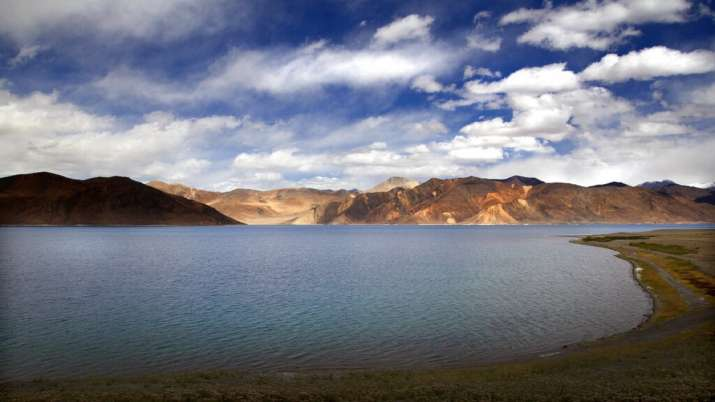 India, Pangong Lake, Ladakh