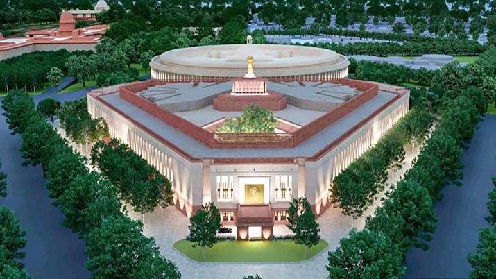 Parliament building, new parliament building, PM Modi