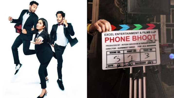 Katrina Kaif, Siddhant Chaturvedi, Ishaan Khatter starrer 'Phone Bhoot'  shoot begins | Celebrities News – India TV