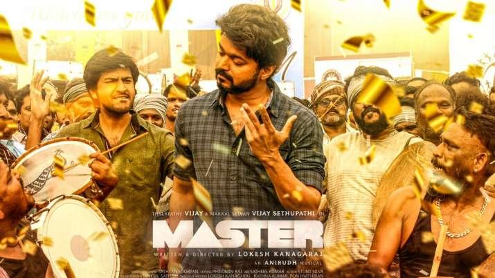 New poster of actor Vijay starrer Master
