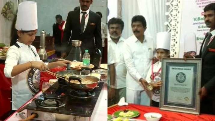 Tamil Nadu girl creates world record by preparing 46 dishes in 58 mins