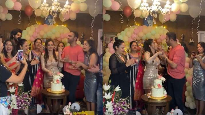 Ankita Lokhande brings in the birthday cheer with friends and beau Vicky Jain