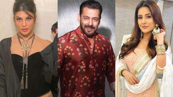 Bigg Boss 14: Jacqueline, Raveena, Shehnaaz Gill join Salman Khan's birthday bash