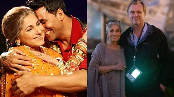 Akshay Kumar's proud son-in-law moment after Tenet director Christopher Nolan's note for Dimple Kapa