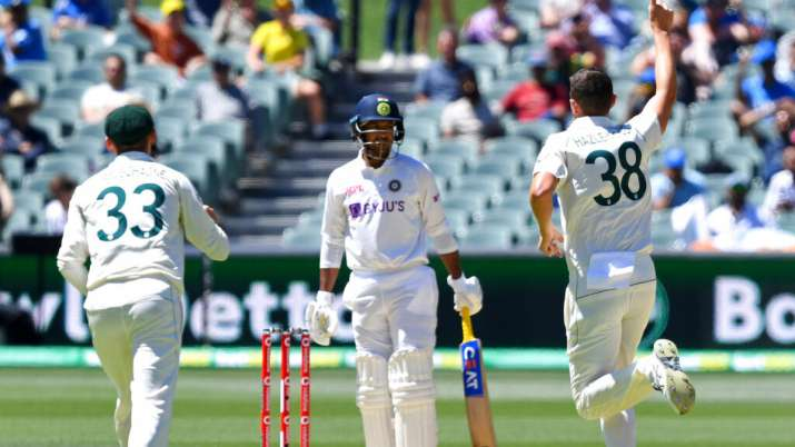 AUS vs IND 1st Test Day 3: Records tumble as India collapse on 36 for lowest-ever Test total   Cricket News – India TV