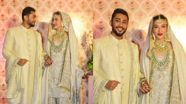 FIRST PHOTOS from Gauahar Khan and Zaid Darbar's nikah ceremony