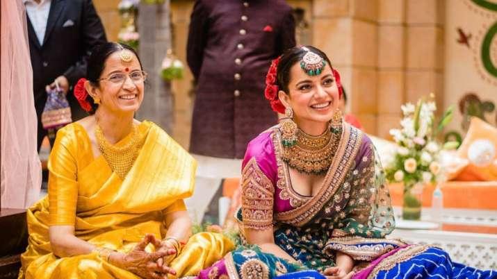 Kangana Ranaut's adorable birthday wish for mother