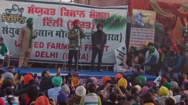 Diljit Dosanjh, farmers protest, Singhu border