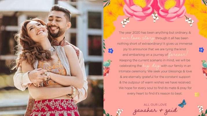 Gauahar Khan, Zaid Darbar to have a Christmas wedding