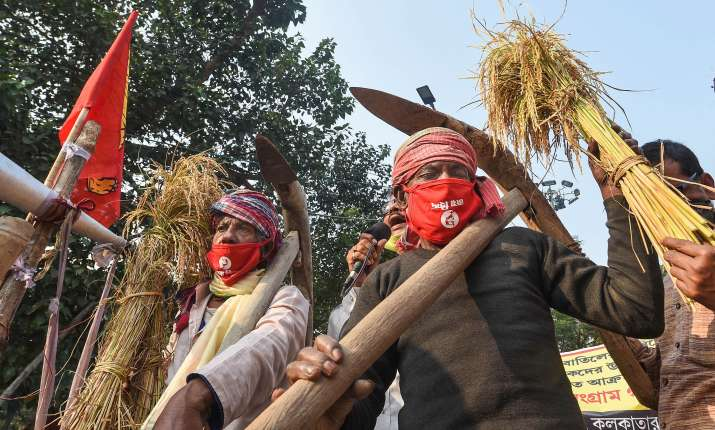 India Tv - farmers protest, what worries farmers, changing agriculture scenario india, india farmers protest, c