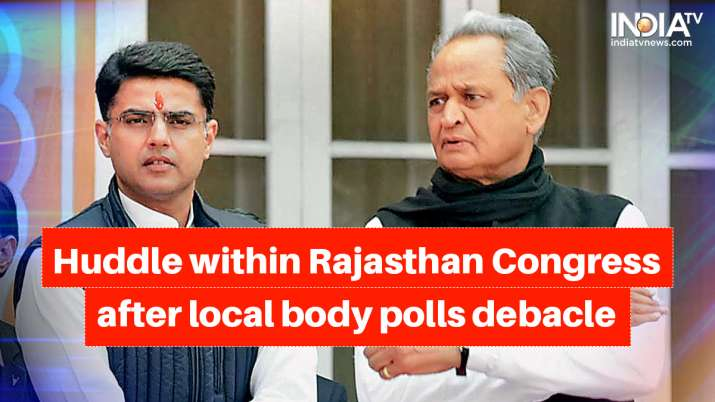 Congress high command seeks report from RPCC after losing Rajasthan local body polls