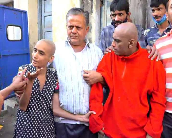 India Tv - Rajkot siblings locked in room for 10 years rescued, see pics