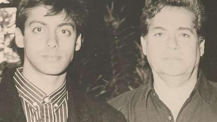 See Salim Khan's throwback photo with son Salman and Amitabh Bachchan, thank Arpita Khan later!