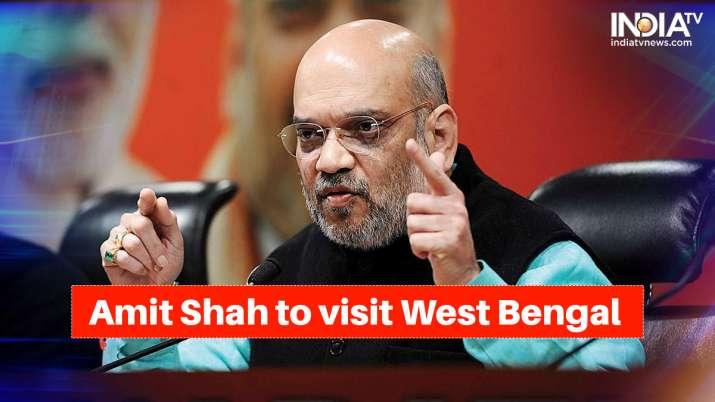 amit shah to visit bengal