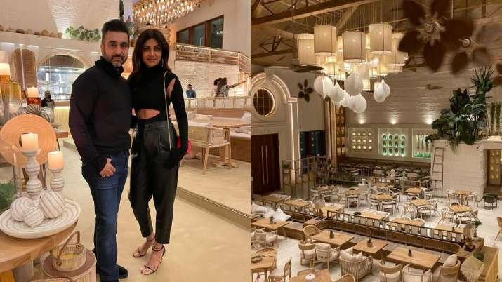 Inside tour of Shilpa Shetty, Raj Kundra's luxurious brand new Mumbai restaurant will leave you mesm