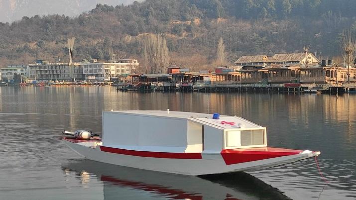 Srinagar's Dal Lake first floating ambulance service