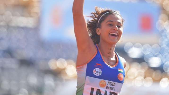 Rashmi Rocket: Taapsee Pannu is halfway through the finish mark