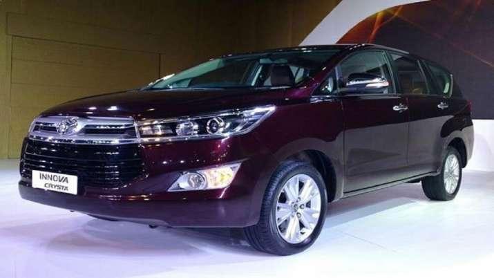 India Tv - Toyota Innova Crysta