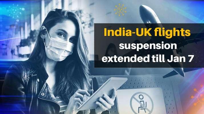 India UK flights suspended