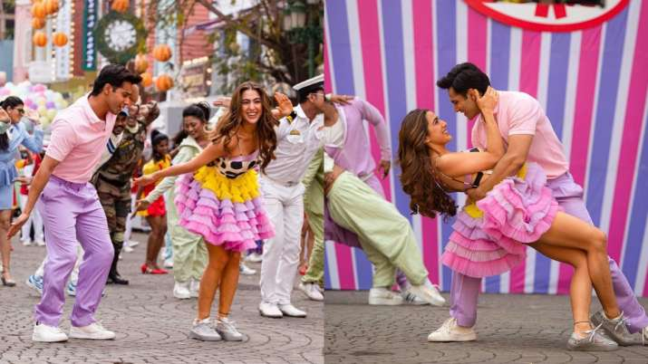 Coolie No 1 song Mirchi Lagi Toh out! Sara and Varun sure to take you into 90's world