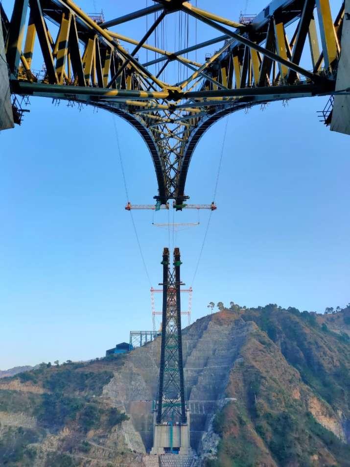 India Tv - Udhampur Srinagar Baramulla Rail Link