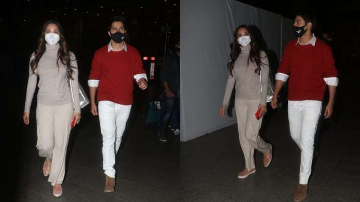 Jug Jug Jeeyo: Varun Dhawan and Kiara Advani return to Mumbai after wrapping up Chandigarh schedule