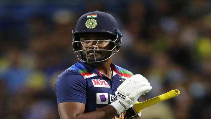 Sanju Samson against Australia