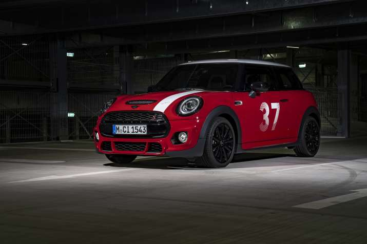 India Tv - BMW launches MINI Paddy Hopkirk Edition in India