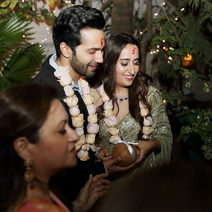 India Tv - Varun Dhawan-Natasha Dalal's fun filled wedding festivities; Manish Malhotra shares unseen pics