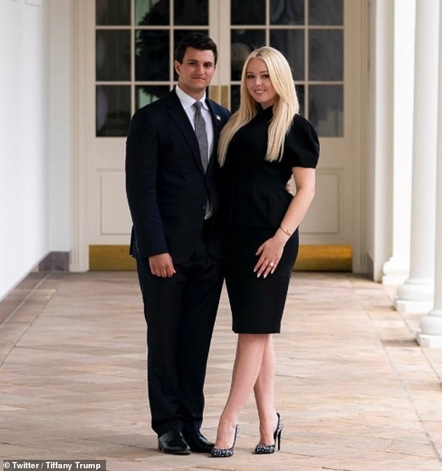 India Tv - Tiffany Trump engagement, Tiffany Trump engagement Michael Boulos, Donald Trump youngest daughter Ti