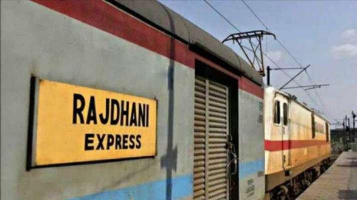 Rajdhani Express fire