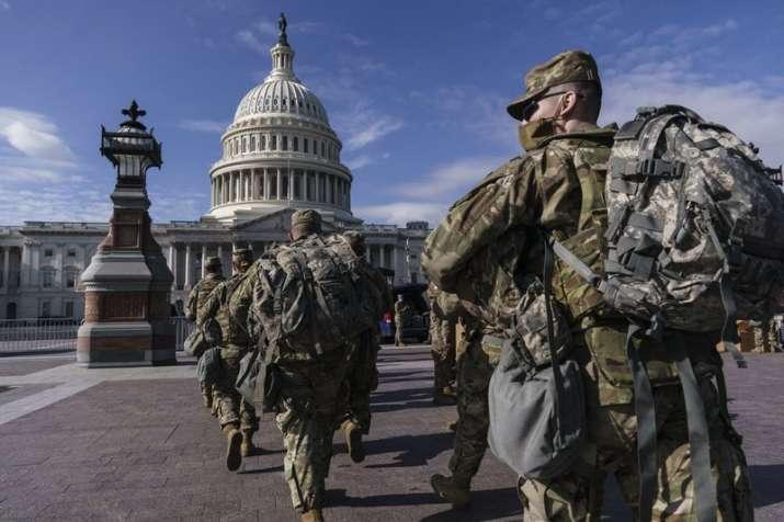 Washington DC converted into garrison city ahead of Biden's inauguration