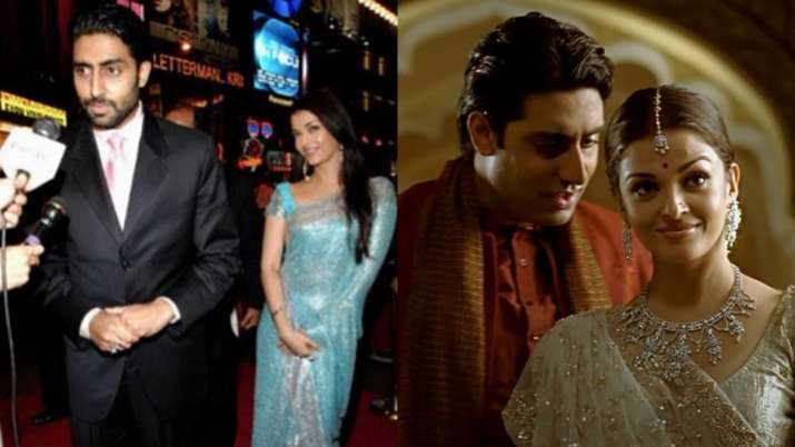Aishwarya Rai Bachchan celebrates 14 years of Guru, shares throwback pics with Abhishek Bachchan