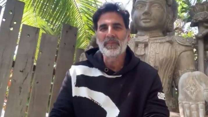Akshay Kumar urges fans to donate for construction of Ram Temple in Ayodhya. Watch video