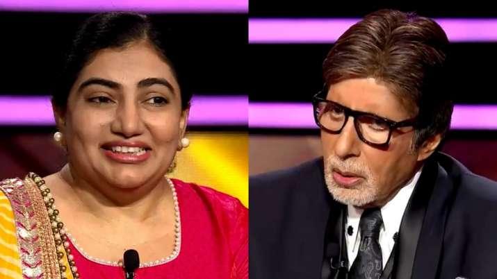 KBC 12 gets its 4th crorepati Dr. Neha Shah who can't stop flirting with Amitabh Bachchan , KBC 12 g