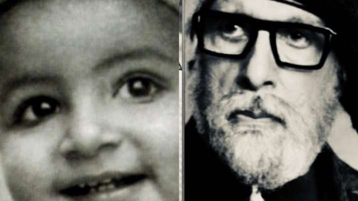 Amitabh Bachchan shares intriguing 'now and then' post