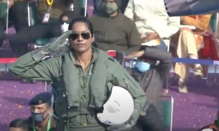 India Tv - Flt Lt Bhawna Kanth, one of the first three female fighter pilots of the country, is part of the Ind