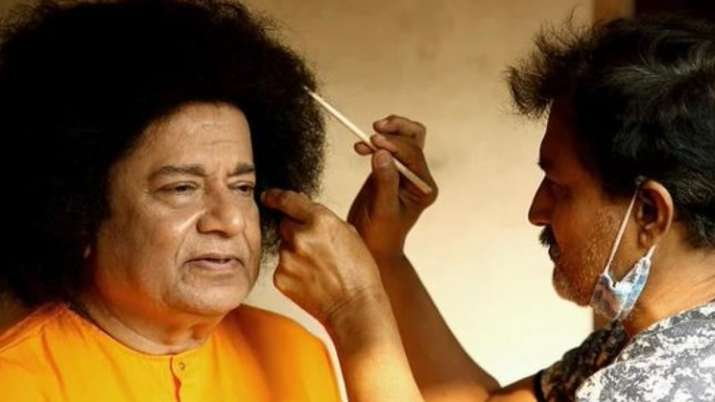 Anup Jalota shares latest photos transforming into Satya Sai Baba in his biopic