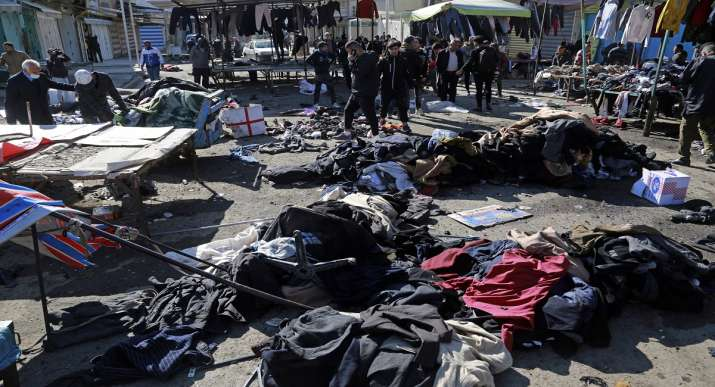 baghdad suicide bomb attack death toll latest updates