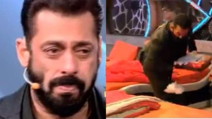 Bigg Boss 14 Weekend Ka Vaar LIVE: Salman Khan to bid tearful goodbye to evicted contestant, clean R
