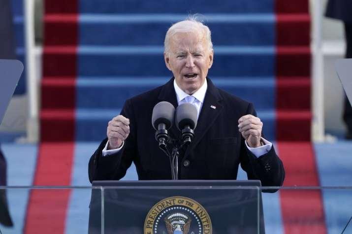 Joe Biden's inaugural address written by Indian-American earns praise for its powerful message
