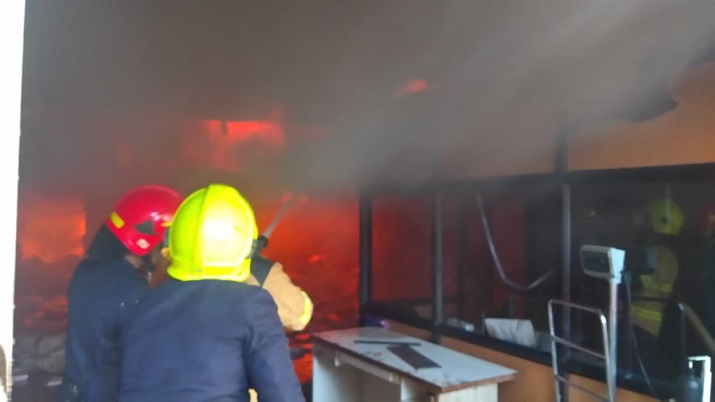 Fire breaks out at Biocell facility in Thane